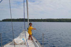 in barca a vela alle tonga il mio itinerario