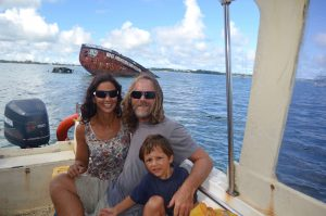 in barca a vela il mio itinerario