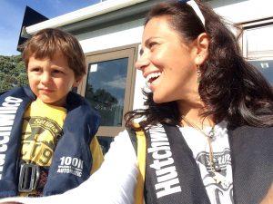 mamma e figlio on the road - nuova zelanda