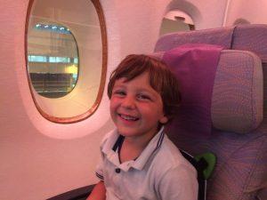 viaggiare con bambino di 3 anni